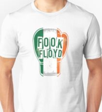 FOOK FLOYD! Conor McGregor Fan Boxing Glove T-Shirt
