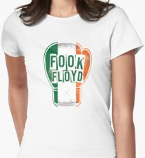 FOOK FLOYD! Conor McGregor Fan Boxing Glove Womens Fitted T-Shirt