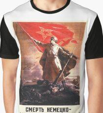 Soviet Propaganda - Death to the German Fascists! (1944) Graphic T-Shirt