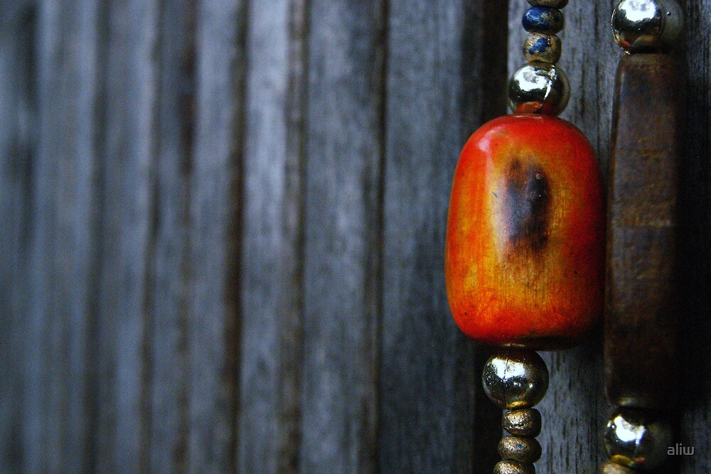 Beads & Wood by aliw
