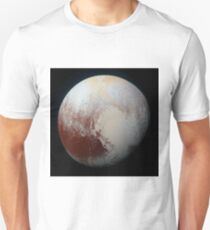 Pluto in High Resolution Unisex T-Shirt