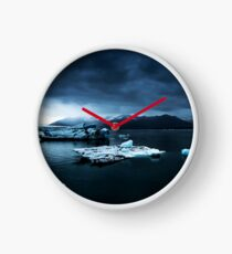 Iceland Photography #tapestry #block Clock