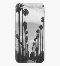 Vintage Black & White California Palm Trees Photo iPhone Case
