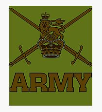 British army subdued Photographic Print