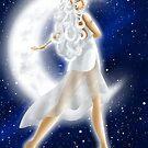 Goddess Selene by AnimeGamerGirl