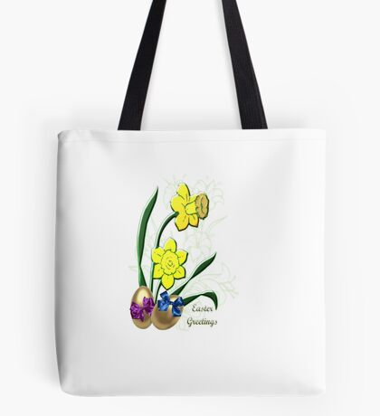 Easter Greetings (3977 Views) Tote Bag