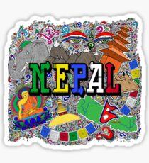 NEPAL Sticker