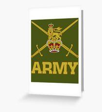 British Army  Greeting Card