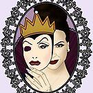 Regina & The Evil Queen by CapnMarshmallow