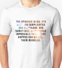 The Universe Is Big Doctor Who Quote T-Shirt