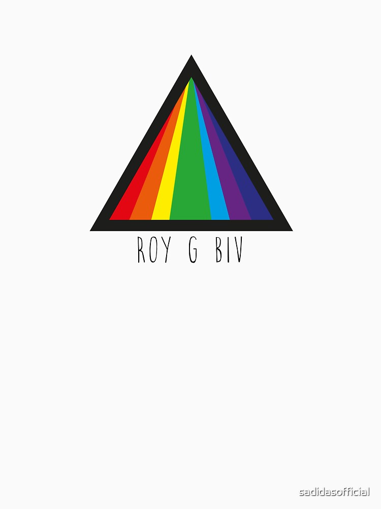 ROY G BIV Rainbow Triangle by sadidasofficial