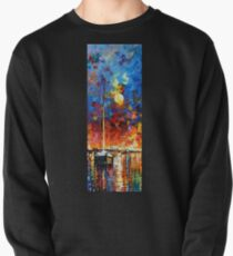 Afremov Boat Painting Pullover