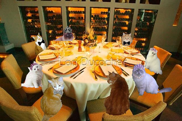 The furry friends night out by Lori Durocher