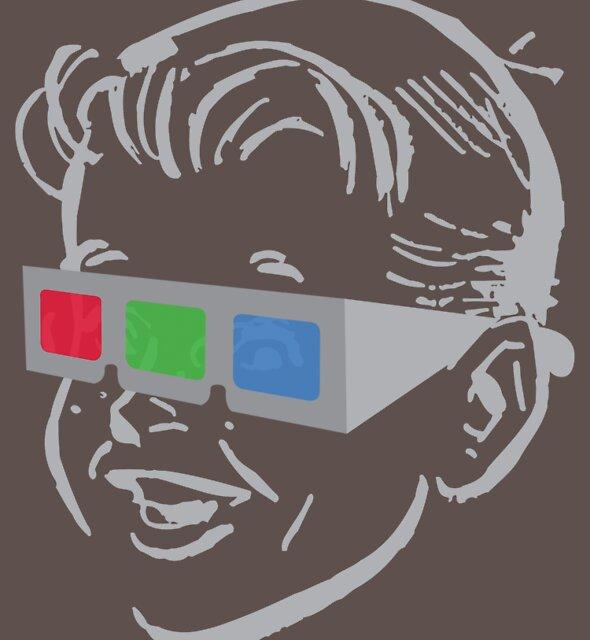RGB glasses by Reece Ward