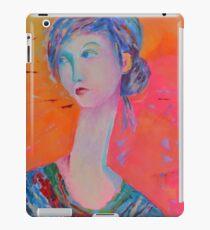 Portrait Modigliani style Woman Portrait Painting Female Figurative  iPad Case/Skin
