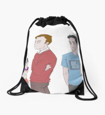 First Days - Mystrade Fanart Drawstring Bag