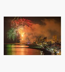 Fiesta starts with a bang Photographic Print