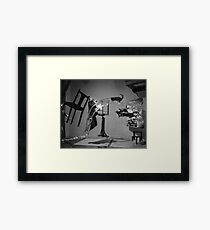 Dali Atomicus - by Philippe Halsman - Enhanced Framed Print