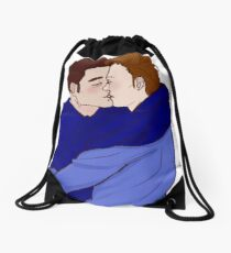 Kiss - Mystrade Fanart Drawstring Bag