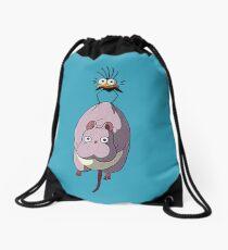 Spirited away Drawstring Bag