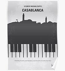 No192- Casablanca minimal movie poster Poster