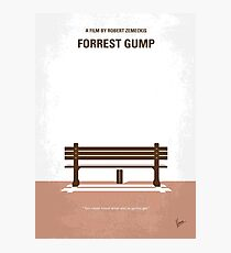 No193- Forrest Gump minimal movie poster Photographic Print