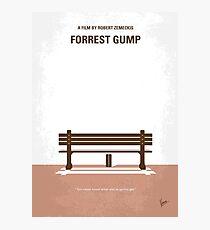 No193 - Forrest Gump minimales Filmplakat Fotodruck