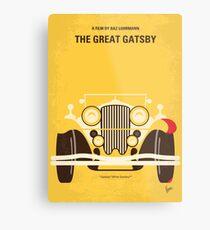 No206- The Great Gatsby minimal movie poster Metal Print