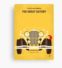 No206 - The Great Gatsby minimales Filmplakat Leinwanddruck