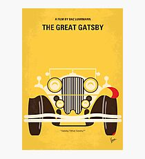 No206 - The Great Gatsby minimales Filmplakat Fotodruck