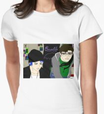 Life is Strange- Edward Caulfield and Oswald Price Womens Fitted T-Shirt