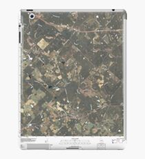 USGS TOPO Map Georgia GA Milan 20110309 TM iPad Case/Skin