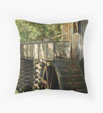 Mill Wheel Throw Pillow