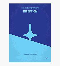 No240- Inception minimal movie poster Photographic Print