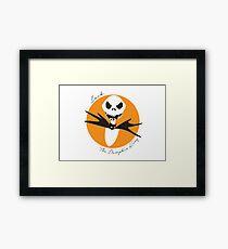 The Pumpkin King Framed Print