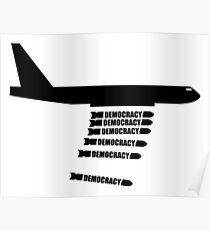 Democracy Plane Bomber Poster