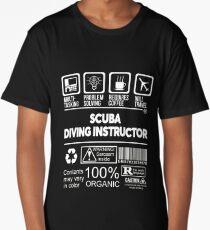 SCUBA DIVING INSTRUCTOR BEST DESIGN 2017 Long T-Shirt