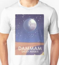 Dammam Saudi Arabia Travel poster T-Shirt
