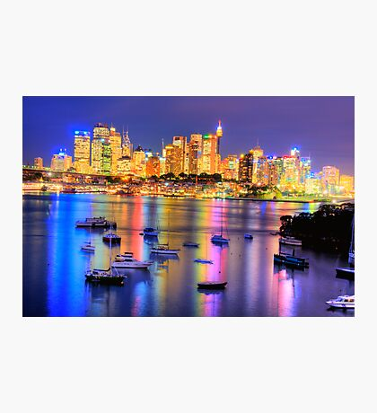 Did Someone  Remember to Turn  Off The Light ? -Moods of A City # 21, Sydney Australia Photographic Print
