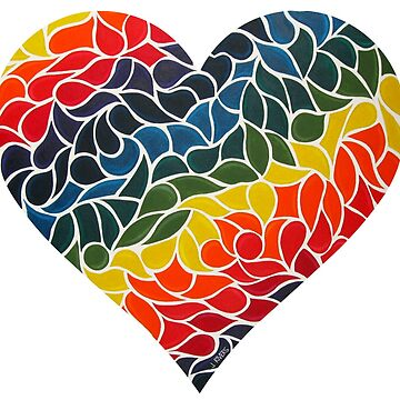Rainbow Heart by jrivers