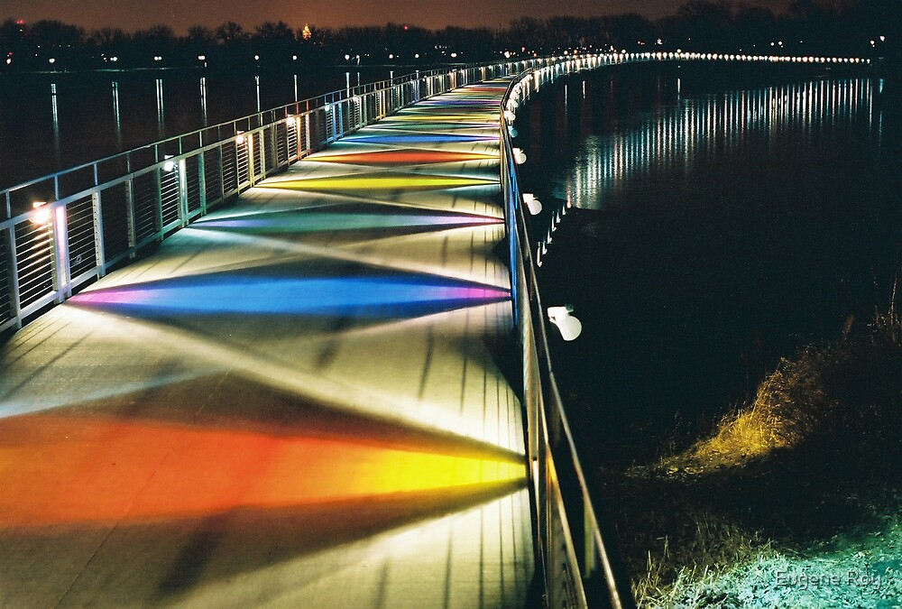 Stained Glass Bridge by Eugene Roy