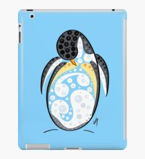 Thoughts and colors series penguin iPad Case/Skin