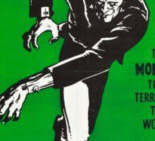 Vintage Frankenstein 1931 Sticker