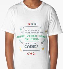 Video Games Long T-Shirt