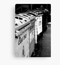 Recycle. Canvas Print