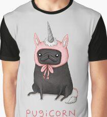 Pugicorn Graphic T-Shirt