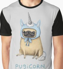 Pugicorn - Fawn Graphic T-Shirt