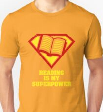 Reading Is My Superpower Shirt T-Shirt