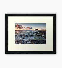 Bamburgh Castle Sunrise Framed Print