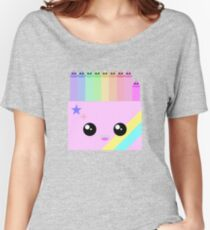 kawaii box of colors Women's Relaxed Fit T-Shirt